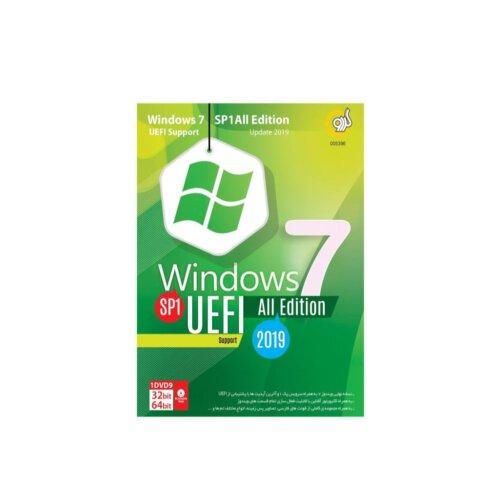 سیستم عامل ویندوز 7 SP1 به همراه UEFI نشر گردو- تمامی نسخه ها