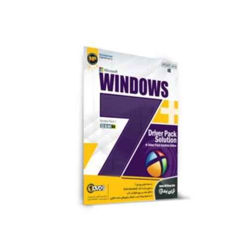 سیستم عامل ویندوز 7 + مجموعه نرم افزار نصب درایور Driver Pack Solution نشر نوین پندار