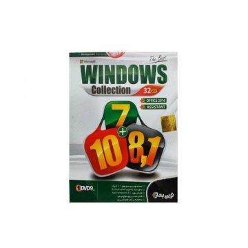 مجموعه سیستم عامل ویندوز 7 + ویندوز 8.1 + ویندوز 10 نشر نوین پندار- 32 بیت