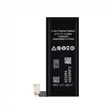 باتری موبایل مناسب برای گوشی اپل مدل iPhone 4G با ظرفیت 1420 میلی آمپر ساعت