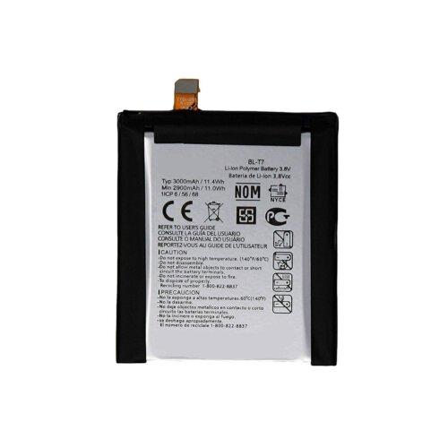 باتری موبایل مناسب برای گوشی ال جی مدل G2 با ظرفیت 3000 میلی آمپر ساعت