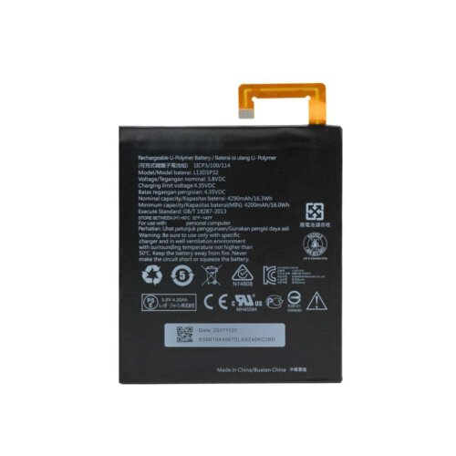 باتری تبلت مناسب برای تبلت لنوو مدل A8-50 A5500 با ظرفیت 4200 میلی آمپر ساعت