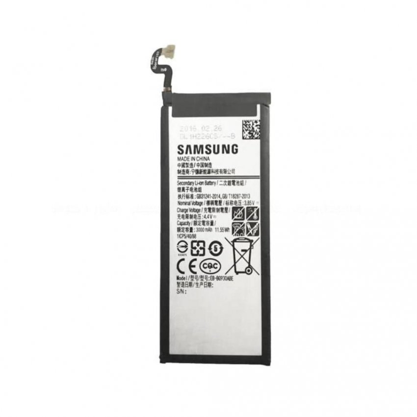 باتری موبایل مناسب برای گوشی سامسونگ مدل Galaxy S7 با ظرفیت 3000 میلی آمپر ساعت