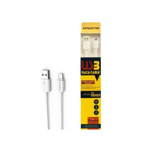 کابل میکرو USB کینگ استار مدل KS120A