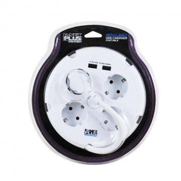 چند راهی برق و هاب کی نت پلاس مدل KP-PS01