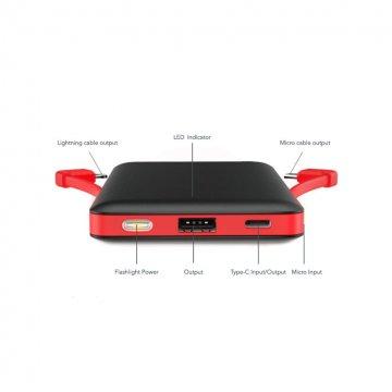 شارژر همراه وریتی مدل V-PU112 ظرفیت 10000 میلی آمپر ساعت