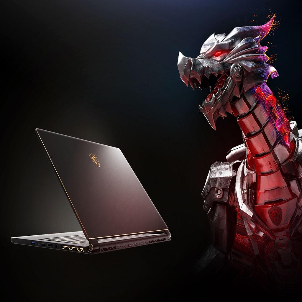 لپ تاپ ام اس آی 15 اینچی مدل MSI GS65 Stealth 9SF i7 16GB 1TBSSD 8GB