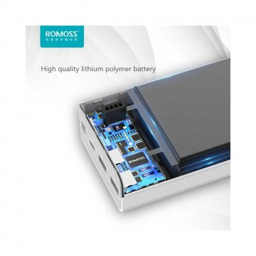 پاور بانک فست روموس مدل Sense 8 Plus ظرفیت 30000 میلی آمپر ساعت