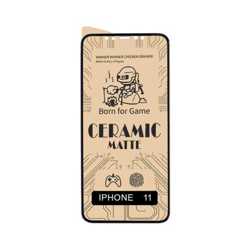 گلس سرامیکی مات گوشی اپل مدل iPhone 11