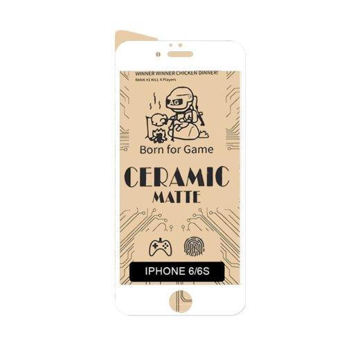 گلس سرامیکی مات گوشی اپل مدل iPhone 6/6s