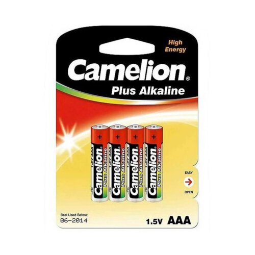 باتری نیم قلمی کملیون مدل Plus Alkaline