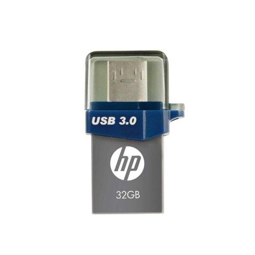 فلش مموری USB 3.0 OTG اچ پی مدل X790 ظرفیت 64 گیگابایت