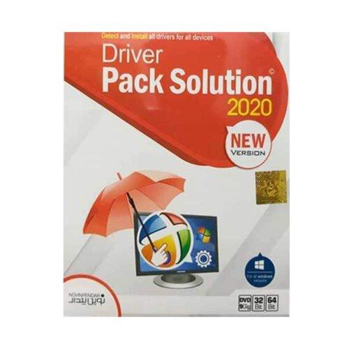 مجموعه نرم افزاری نصب درایور سخت افزاری Driver Pack Solution 2020 نشر نوین پندار
