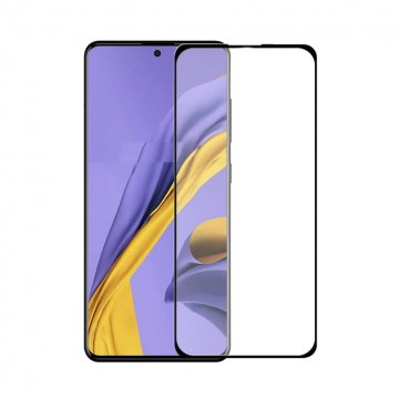 گلس فول چسب گوشی سامسونگ مدل Galaxy A51