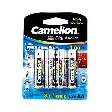 باتری قلمی کملیون مدل Digi Alkaline بسته 3+1 عددی