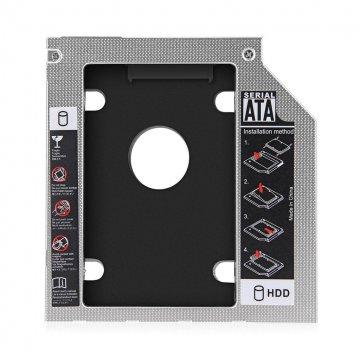 براکت هارد اینترنال 2.5 اینچی USB 2.0 مدل Second HDD Caddy 9mm