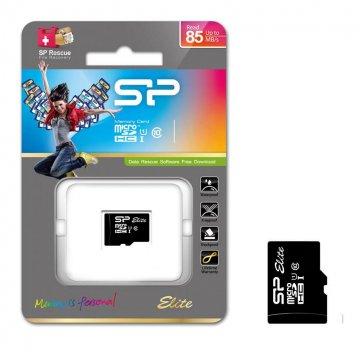 کارت حافظه microSDHC سیلیکون پاور مدل Elite کلاس 10 استاندارد UHS-I U1 سرعت 85MBps ظرفیت 16 گیگابایت