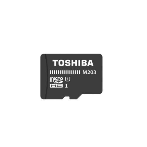 کارت حافظه microSDHC توشیبا مدل M203 کلاس 10 استاندارد UHS-I سرعت 100MBps ظرفیت 64 گیگابایت به همراه آداپتور