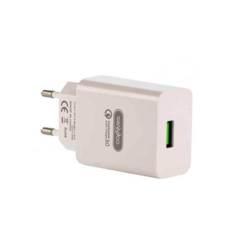 شارژر فست دیواری ترانیو مدل SE4 به همراه کابل micro USB