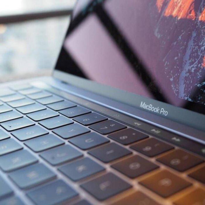 لپ تاپ اپل مک بوک 16 اینچی مدل Apple MacBook Pro MVVJ2 Core i7 16GB 512GB 4GB