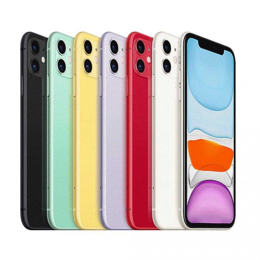 گوشی موبایل اپل مدل iPhone 11 دو سیم کارت ظرفیت 64 گیگابایت (دست دوم)