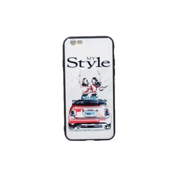 قاب گوشی اپل iPhone 6/6s طرح دار طرح دخترانه