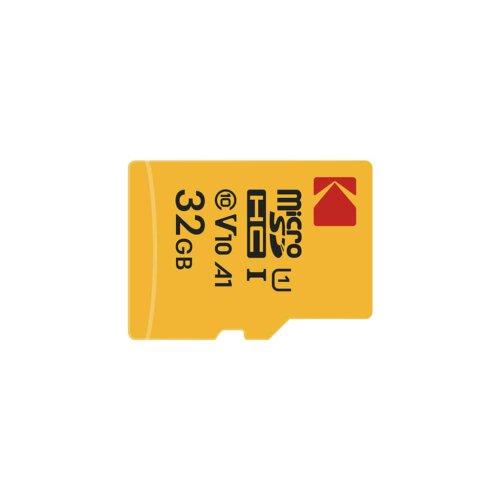 کارت حافظه microSDHC کداک کلاس 10 استاندارد UHS-I U1 سرعت 85MBps ظرفیت 32 گیگابایت