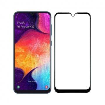 محافظ صفحه نمایش فول چسب گوشی سامسونگ مدل Galaxy A10s