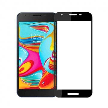 محافظ صفحه نمایش فول چسب گوشی سامسونگ مدل Galaxy A2 Core