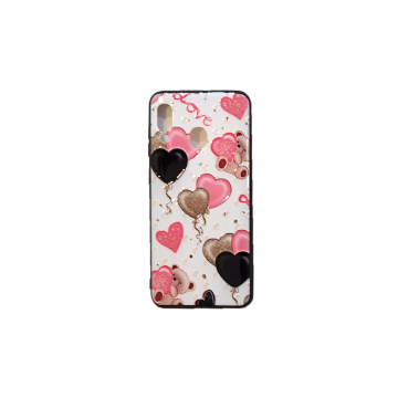 قاب گوشی سامسونگ Galaxy A20 طرح دار طرح عاشقانه