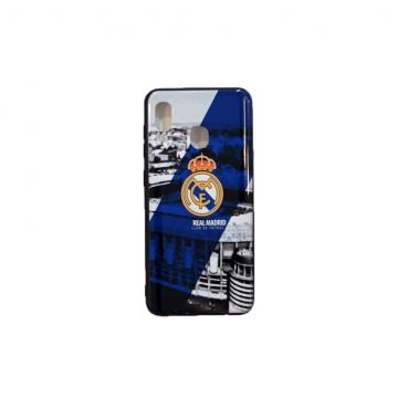 قاب گوشی سامسونگ Galaxy A20 طرح دار طرح رئال مادرید