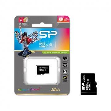 کارت حافظه microSDHC سیلیکون پاور مدل Elite کلاس 10 استاندارد UHS-I U1 سرعت 85MBps ظرفیت 64 گیگابایت