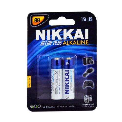 باتری قلمی نیکای مدل Ultra Plus Alkaline بسته 40 عددی
