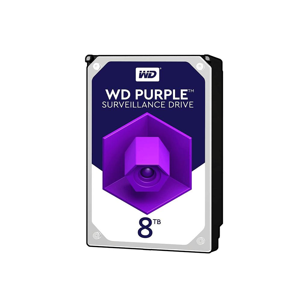 هارد اینترنال وسترن دیجیتال مدل WD82PURZ ظرفیت 8 ترابایت